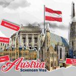 شانس اخذ اقامت توریستی اتریش