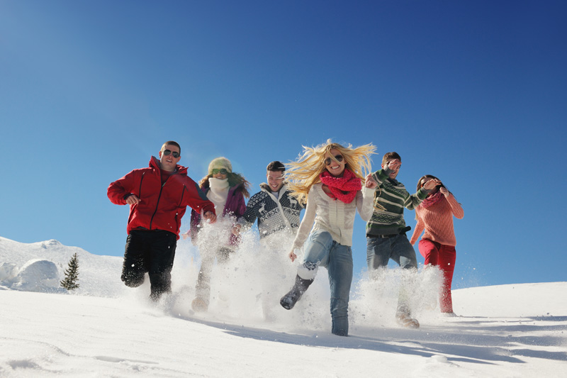 Offer foreign travel in winter