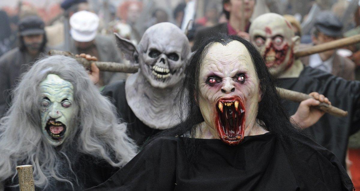 کارناوال وحشت با حضور شیاطین درمقدونیه