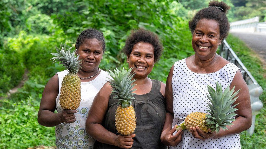 غذای مردم جزایر سلیمان