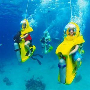 اسکوتر زیردریایی کیش